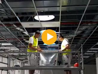 Inštalácia svetlovodu - difúzora