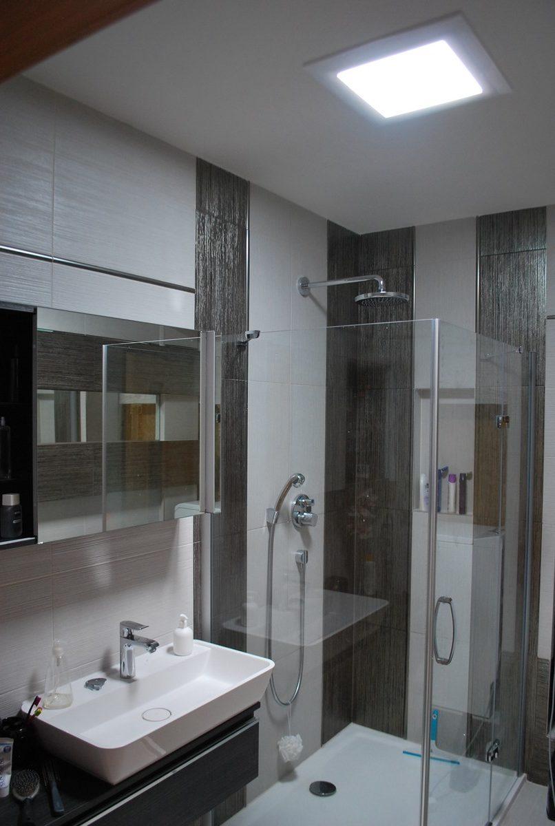 Svetlovod v kúpelni v petržalskom byte